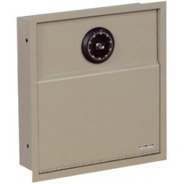 Amsec WS1014 Wall Safe w/ Flat Dial Combo Lock and Removable Shelf