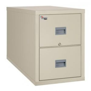 Fireking Patriot 2P2131-C Legal 1 Hour Fire Rated File Cabinet - Parchment