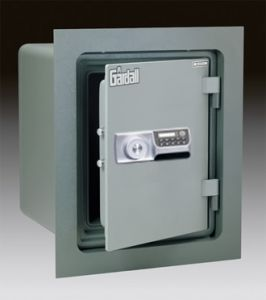 Gardall WMS129-G-E Insulated Wall Safe with U.L. One Hour Fire Label and Electronic Lock